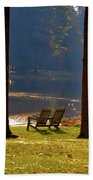 Perfect Morning Place Beach Towel