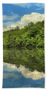 Perfect Reflections Beach Towel by Adam Jewell