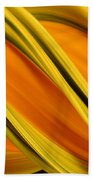 Peripheral Streak Image Of Squash Beach Towel