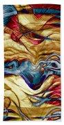 Permanent Waves Beach Towel