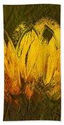 Petales De Soleil - A43t02b Beach Towel