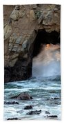 Pfeiffer Rock Big Sur 2 Beach Towel