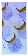 Phases Of An Eclipse Beach Towel by Science Source