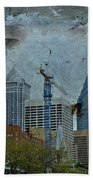 Philadelphia Skyline Beach Towel