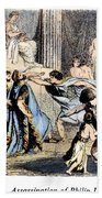 Philip II (382-336 B.c.) Beach Towel