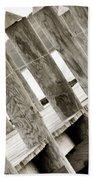 Phillies Dock Halladay Beach Towel by Trish Tritz