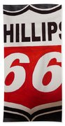 Phillips 66 Beach Towel