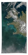 Phytoplankton Bloom In The North Beach Towel by Stocktrek Images