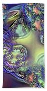 Phytoplankton Beach Towel by Ron Bissett