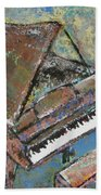 Piano Study 5 Beach Towel