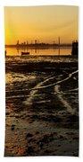 Pier At Sunset Beach Sheet