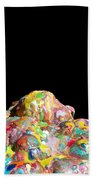 Pile Of Color In Space Two K O Four Beach Towel