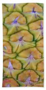 Pineapple Eyes Beach Towel