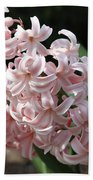 Pink Hyacinth Beach Towel