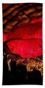 Pink Petal Beach Towel