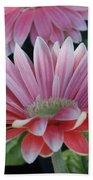 Pink Petals Beach Towel