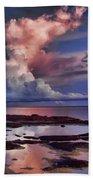 Pink Sky Beach Sheet