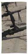 Pk General-purpose Machine Guns Stand Beach Towel