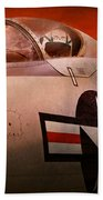 Plane - Pilot - Airforce - Go Get Em Tiger  Beach Towel by Mike Savad