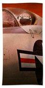 Plane - Pilot - Airforce - Go Get Em Tiger  Beach Towel