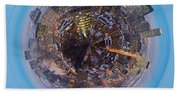 Planet Wee Montreal Quebec Beach Towel