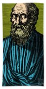 Plato, Ancient Greek Philosopher Beach Sheet