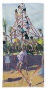 Playground Beach Towel by Andrew Macara