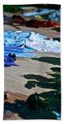Plein Air Palette Beach Towel