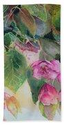 Plum Blossom Beach Towel