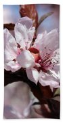 Plum Blossoms 10 Beach Towel