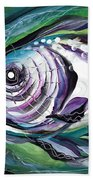Poetic Chaos Beach Towel