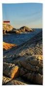 Point Atchison Lighthouse 1 Beach Towel