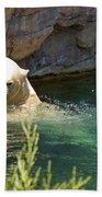 Polar Bear Swim Beach Towel