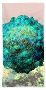 Polio Virus Particle Or Virion Poliovirus 1 Beach Towel by Russell Kightley
