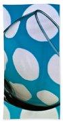 Polka Dot Glass Beach Towel