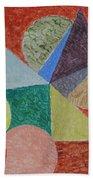 Polychrome Beach Towel