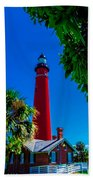 Ponce Inlet Lighthouse 1 Beach Towel