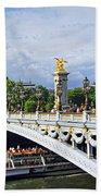 Pont Alexander IIi Beach Towel by Elena Elisseeva