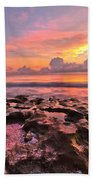 Pool Clouds Beach Towel