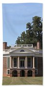 Poplar Forest From The Lawn Beach Towel