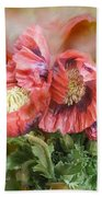 Poppies Big And Bold Beach Towel