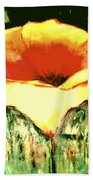 Poppy Cup Of Gold  Beach Towel
