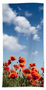 Poppy Flowers 04 Beach Towel