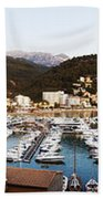 Port Of Soller Beach Towel