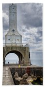 Port Washington Lighthouse Beach Towel