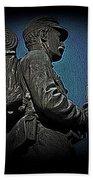 Portrait 31 American Civil War Beach Towel