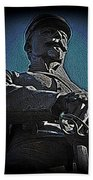 Portrait 36 American Civil War Beach Towel