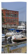 Portsmouth Waterfront Pwp Beach Towel