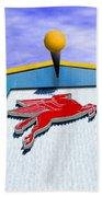 Poseidon's Steed Beach Towel
