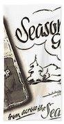 Postcard From War Beach Towel